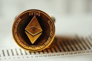 Ethereum cryptocurrency coin
